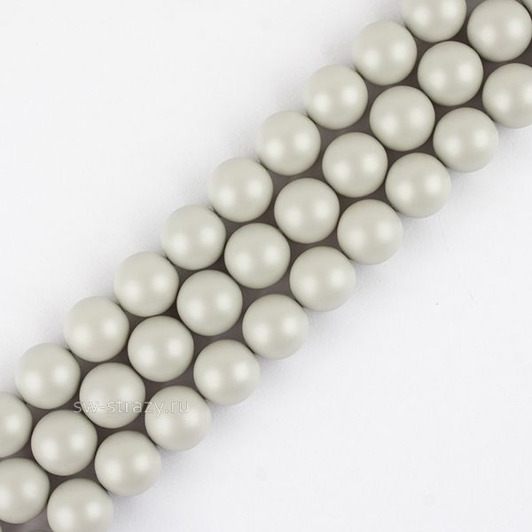 Жемчужины 5810 5 mm Crystal Pastel Grey Pearl