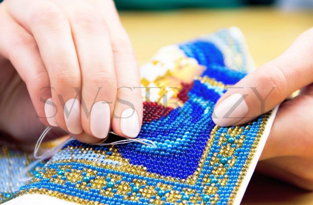 Вышивка картины из бисера